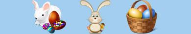 Disegni di Pasqua per bambini da colorare