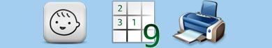 Schemi Sudoku per bambini da stampare