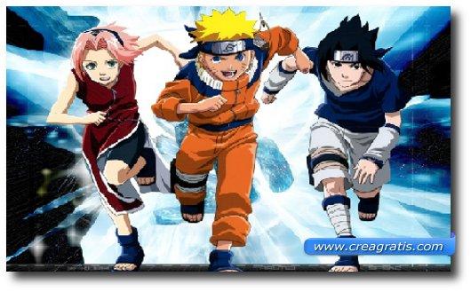 Immagine del cartone animato Naruto