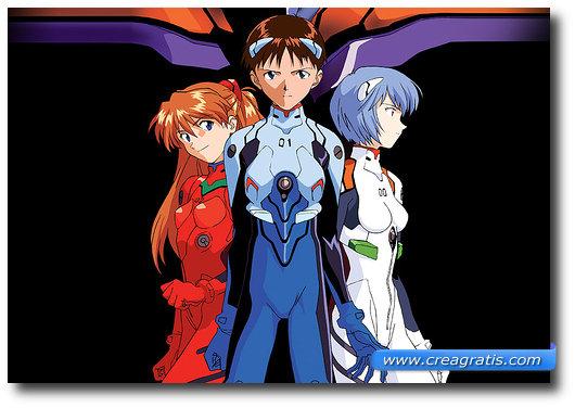 Immagine del cartone animato Neon Genesis Evangelion