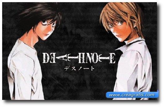Immagine del cartone animato Death Note