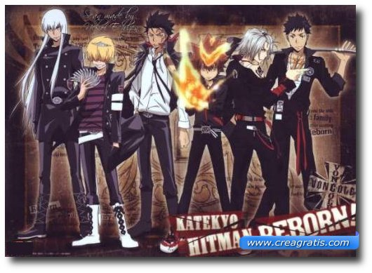 Immagine del cartone animato Katekyo Hitman Reborn