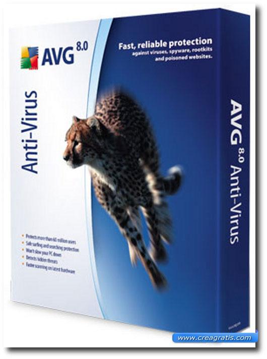 Immagine dell'antivirus AVG Free
