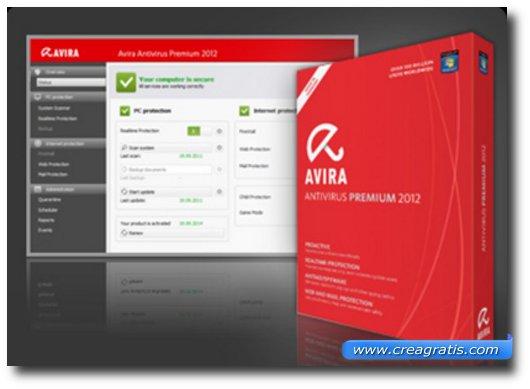 Immagine dell'antivirus Avira Free