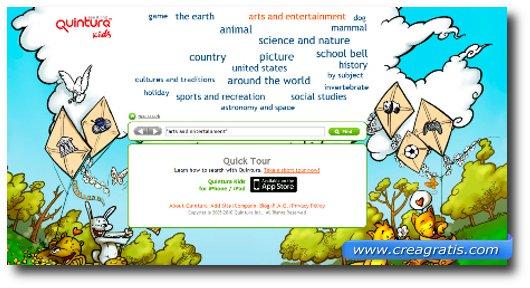 Immagine del motore di ricerca Quintura for Kids