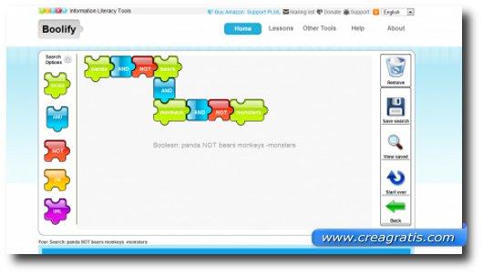 Immagine del motore di ricerca Boolify