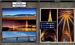 Immagine dell'applicazione Diptic per iPad