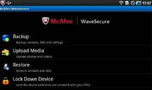 Immagine dell'app McAfee WaveSecure