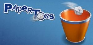 Immagine dell'applicazione Paper Toss per Android