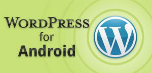 Immagine dell'applicazione WordPress per Android