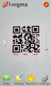 Immagine dell'app i-nigma per Android