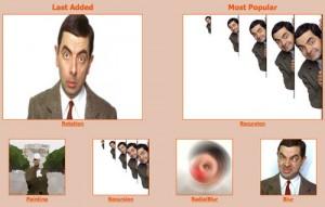 Immagine del sito Loogix per creare avatar online