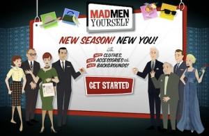 Immagine del sito MadMen Yourself per creare avatar online