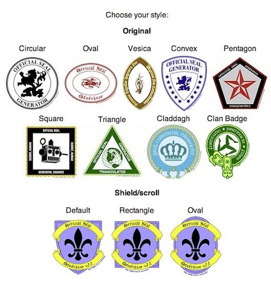 Scelta della forma e dello stile dello stemma