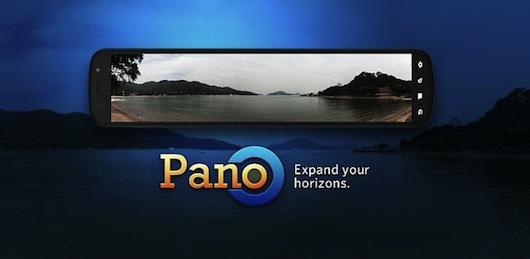 Immagine generica dell'app Pano per foto panoramiche su Android