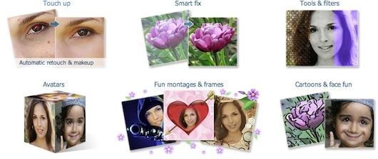 Immagine del sito MakeUp Photo per creare avatar online