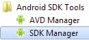 Avviare SDK Manager su Android