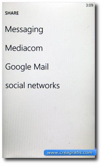 Condivisione dei documenti su Google Docs