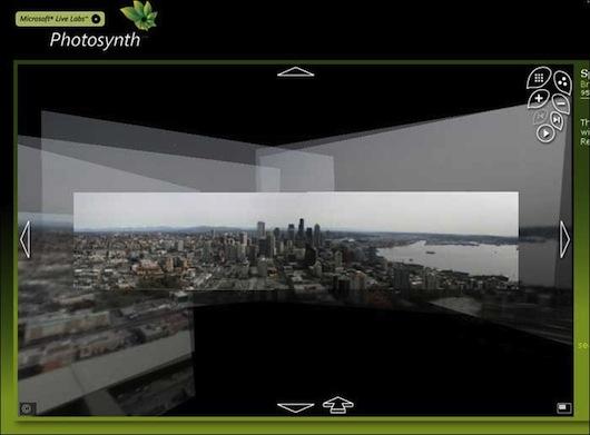 Immagine dell'applicazione Photosynth