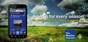 Immagine dell'app The Weather Channel di meteo per Android