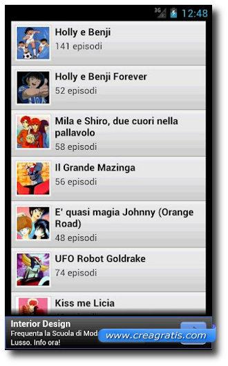 Immagine dell'app Cartoni Animati TV per Android