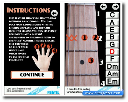 Immagine dell'app Learn Guitar Chords per Android