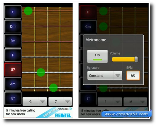 Immagine dell'app Robotic Guitarist Free per Android