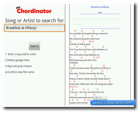 Immagine dell'app The Chordinator per Android