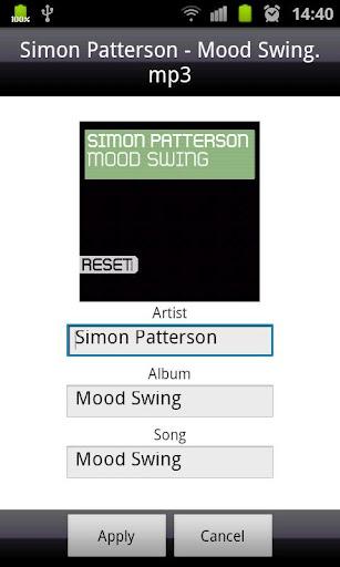 Immagine della ricerca di musica con l'app Easy MP3 Downloader