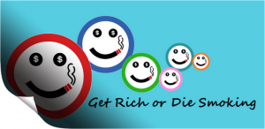 Immagine dell'app Get rich or die smoking per Android