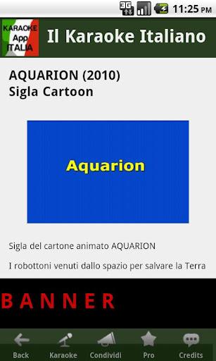 Immagine dell'app Karaoke Italia Light per Android