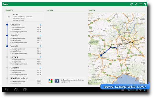 Immagine dell'app Orari Treni PRO per Android