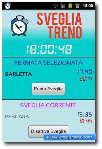 Immagine dell'app Info Treno per Android