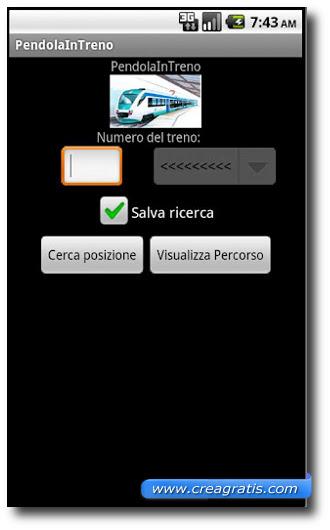 Immagine dell'app Pendola In Treno per Android