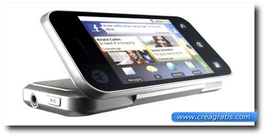 Immagine di uno smartphone del 2010