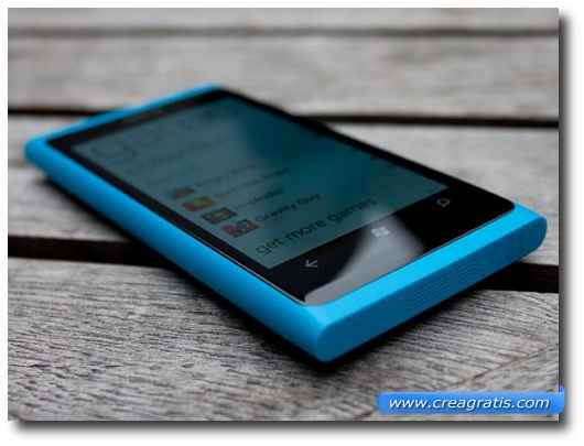 Immagine di uno samrtphone Nokia Lumia del 2012