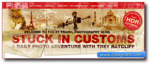 Immagine del sito Stuck In Customs