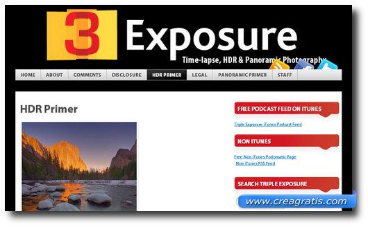 Immagine del sito 3Exposure