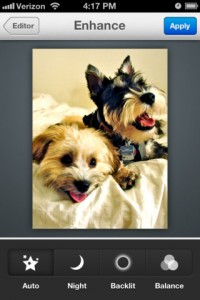 Immagine dell'applicazione Aviary Photo Editor