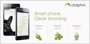 Immagine dell'app Dolphin Browser HD per Android