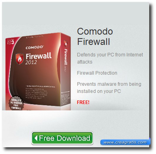 Immagine del firewall Comodo Firewall