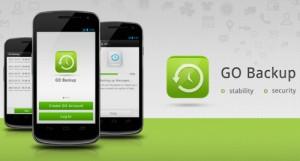 Immagine dell'app Go Backup per Android