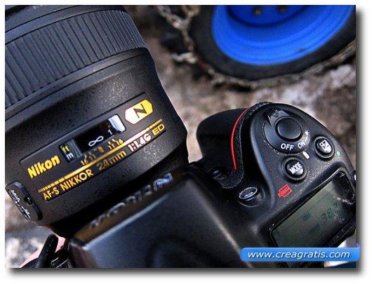Immagine generica di una fotocamera