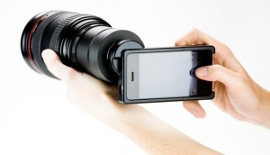 Immagine dell'accessorio iPhone SLR Mount per iPhone