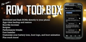 Immagine dell'app ROM Toolbox per Android