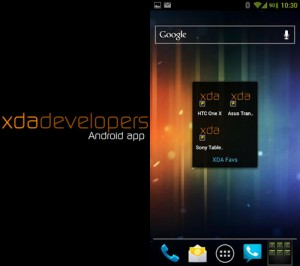 Immagine dell'app XDA per Android