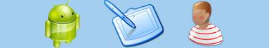 Foto e dettagli del tablet Android Tabeo per bambini