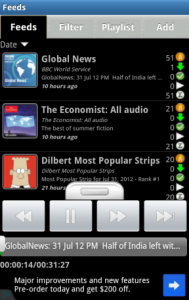 Immagine dell'applicazione ACast per Android