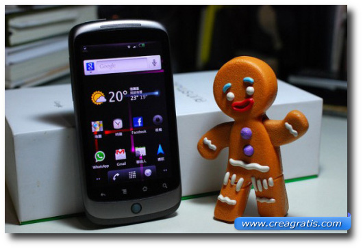 Immagine di Android Gingerbread
