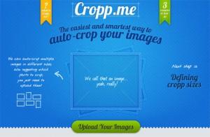 Immagine del sito Cropp.me